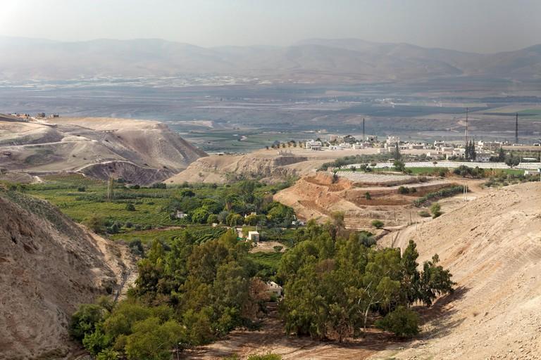 Fertile Jordan Valley, near Irbid, Jordan