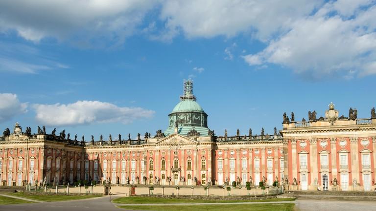 New Palace in Sanssouci Park, Potsdam, Germany