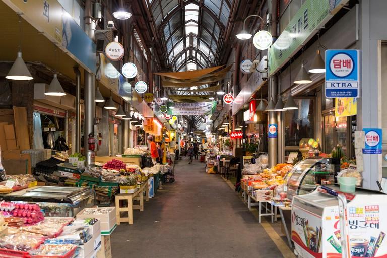 Tongin Market, Seoul, South Korea
