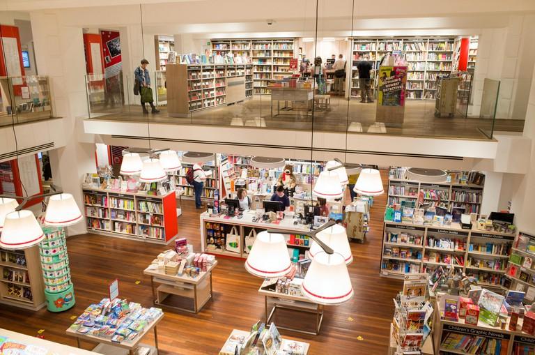 Foyles bookstore, London, UK