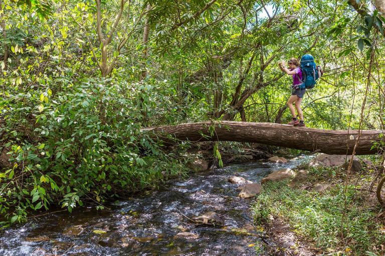 Costa Rica, Guanacaste province, Rincon de la Vieja National Park