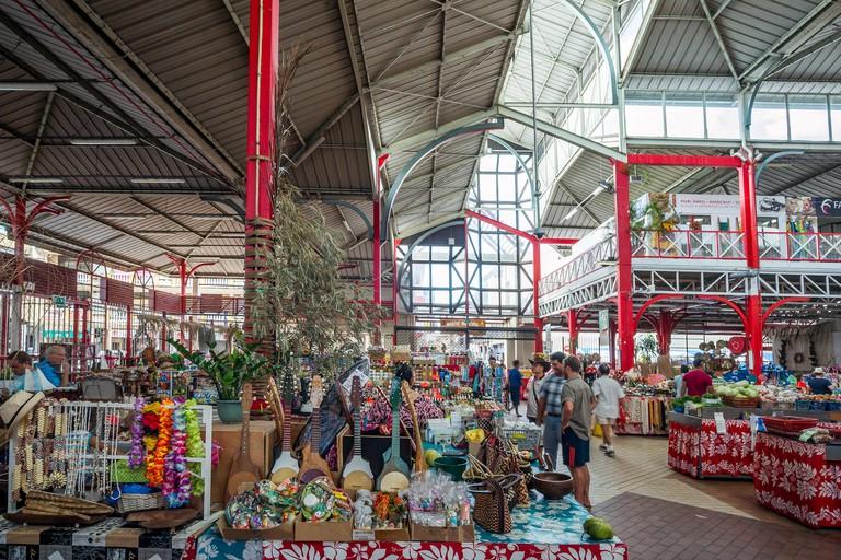 Tahiti (French Polynesia) : Papeete market