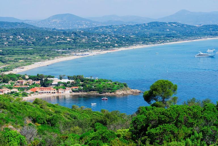 Pampelonne Beach, Ramatuelle, Var, Provence Alpes Cote d'Azur region, France, Mediterranean, Europe