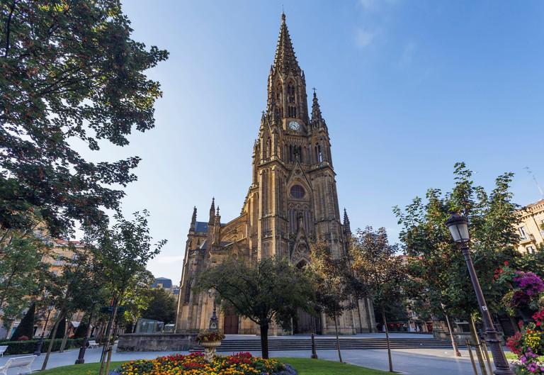 Spain, Basque Country, Guipuzcoa province (Guipuzkoa), San Sebastian (Donostia), European capital of culture 2016, Buen Pastor