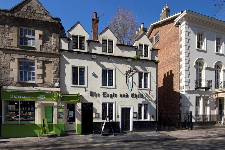 Eagle and Child pub Oxford ( Famous meeting place of the Inklings)