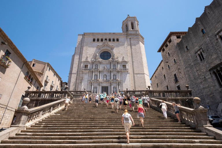 Cathedral of Saint Mary of Girona, Catalonia, Spain, Europe