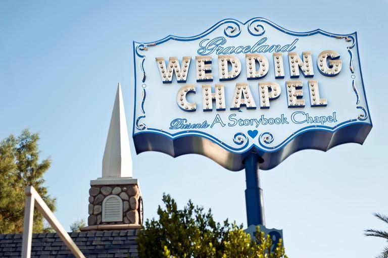 Graceland Wedding Chapel in Las Vegas Nevada