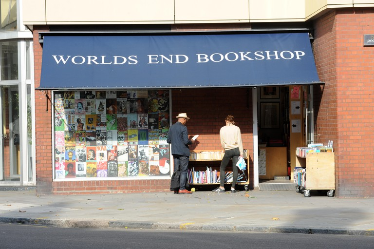 World's End Bookshop in Chelsea, London.