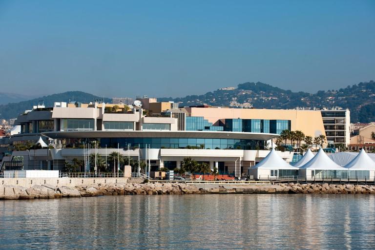 Frankreich, Cote d Azur, Cannes, Palais des Festivals et des Congres