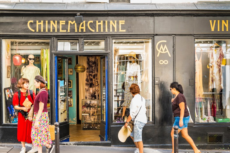 chinemachine, vintage clothing store