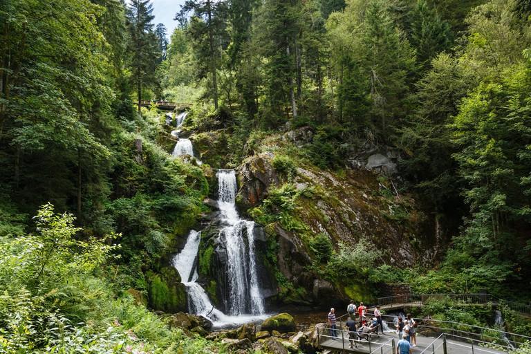 Triberg Waterfalls, Black Forest, Germany