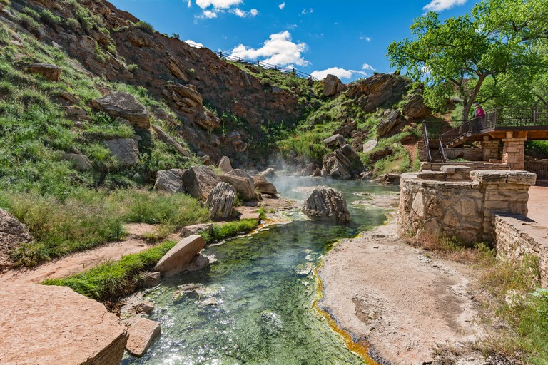 Wyoming, Thermopolis, Hot Springs State Park