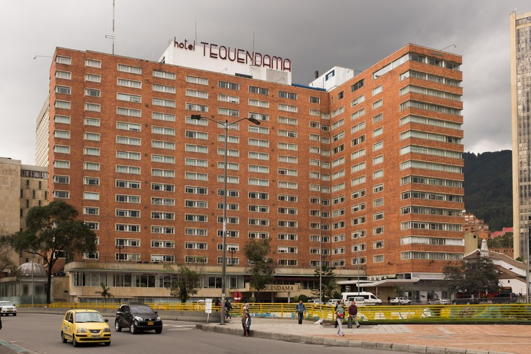 Bogota - Colombia, 19th January. The Hotel Tequendama, a Crowne Plaza 5-star hotel located in central Bogota, Colombia on January 19th 2017.