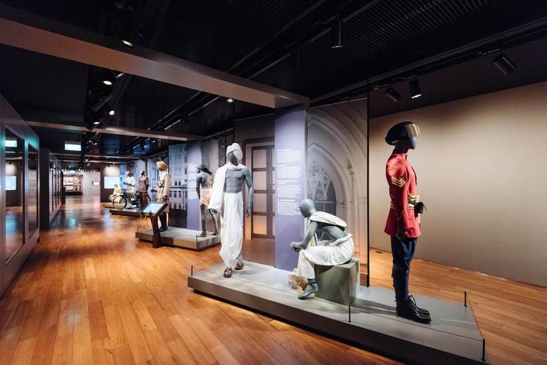 Singapore - Singapore - April 20, 2017: Indian Heritage Centre in Singapore.