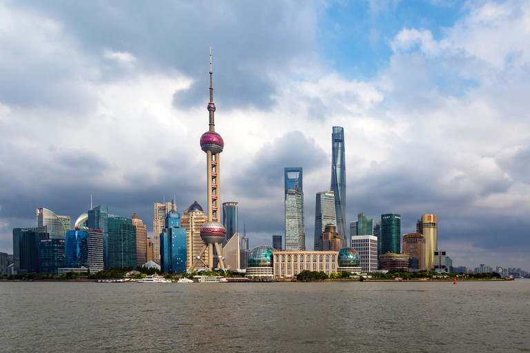 Lujiazui skyline, Shanghai, China