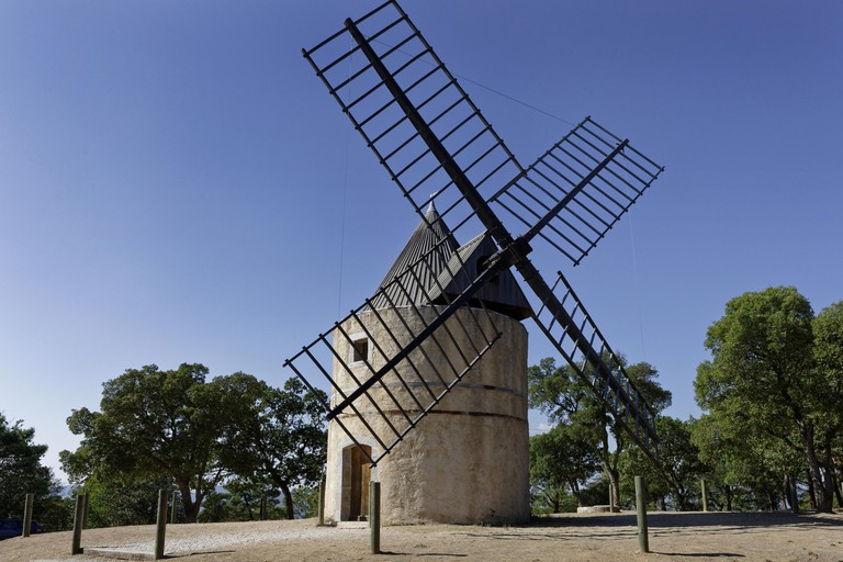 Windmil in Ramatuelle, Provence