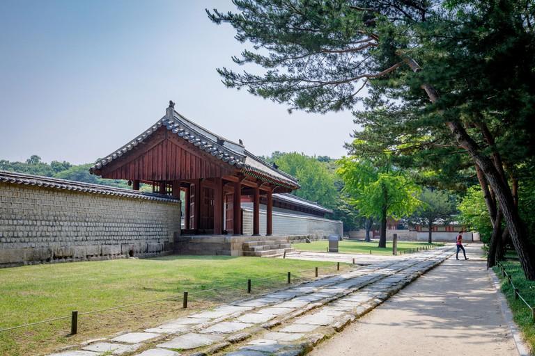 Jongmyo Shrine at summer season JHKEB1