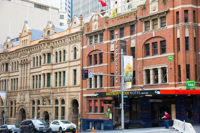 Metropolitan hotel in Sydney city centre, new south wales,australia