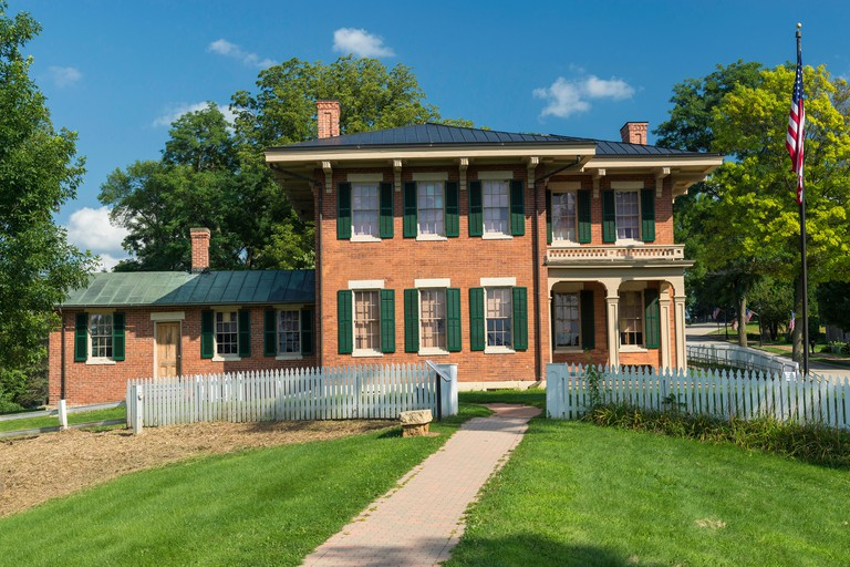 Home of President Ulysses S. Grant in Galena, Illinois.
