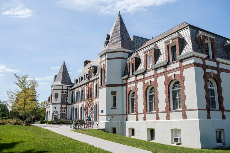 Le Chateau, Middlebury College, Middlebury,Vermont, USA