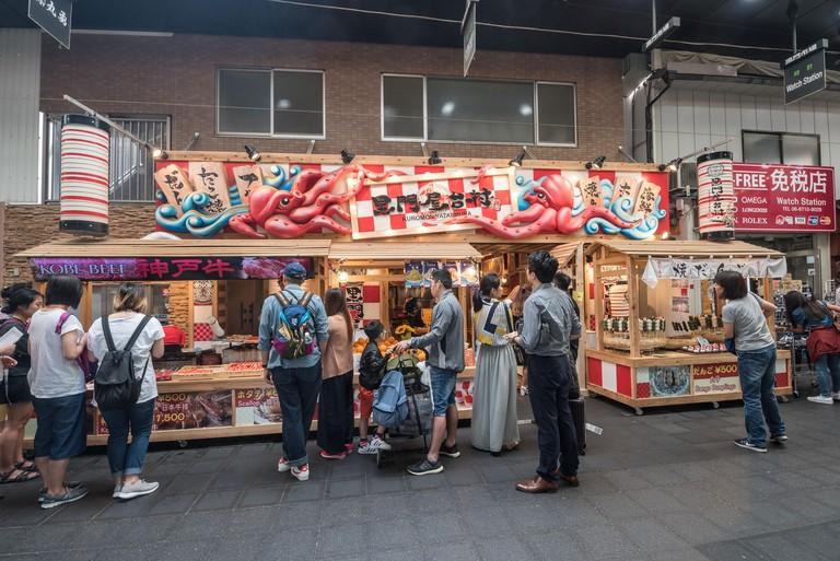 Kuromon Market of Osaka_RTD0HW