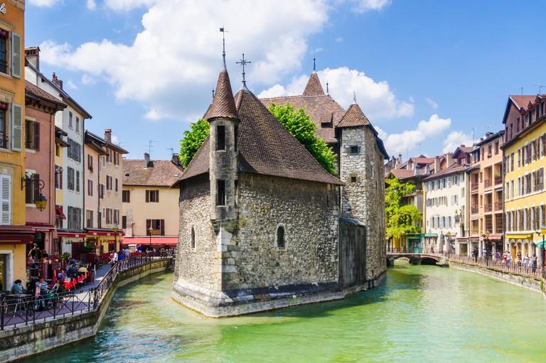 Palais de l'lsle, Vieille Ville, Annecy, Haute-Savoie, Rhone-Alpes, France