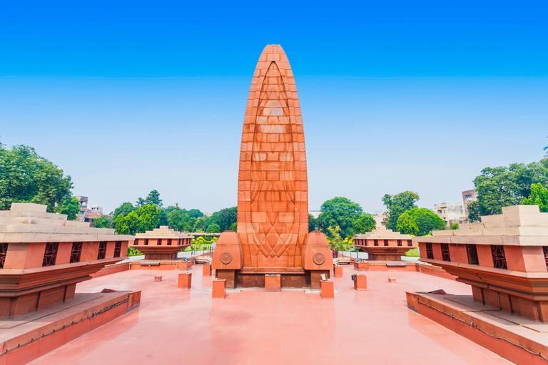 Jallianwala Bagh memorial in Amritsar, Punjab, India