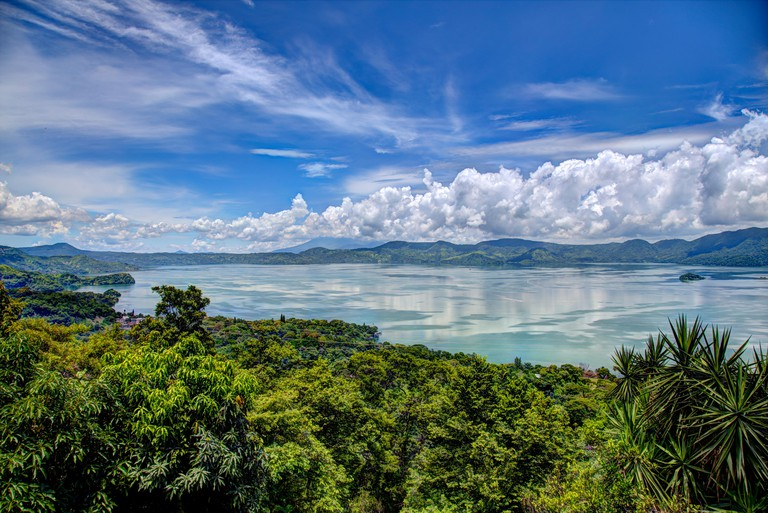 Lago de Ilopango El Salvador