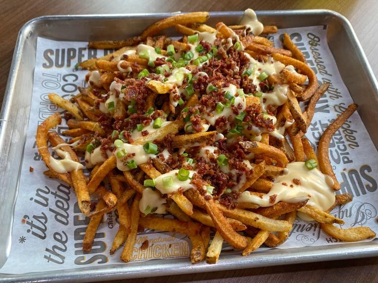 Super Chix in Huntsville - loaded-fries