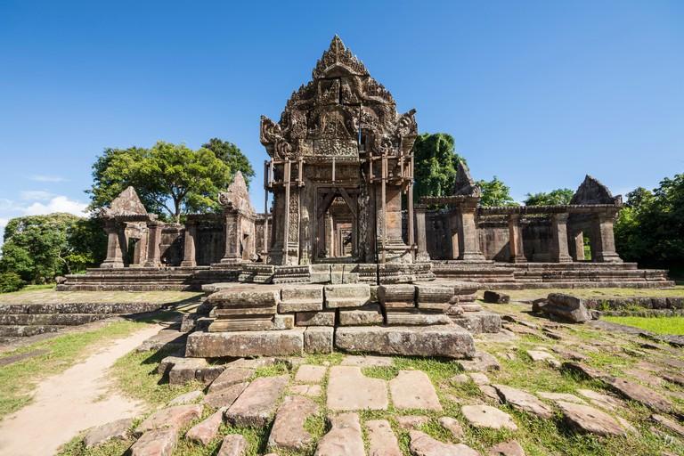 Gopura IV, Preah Vihear Temple; Preah Vihear, Cambodia