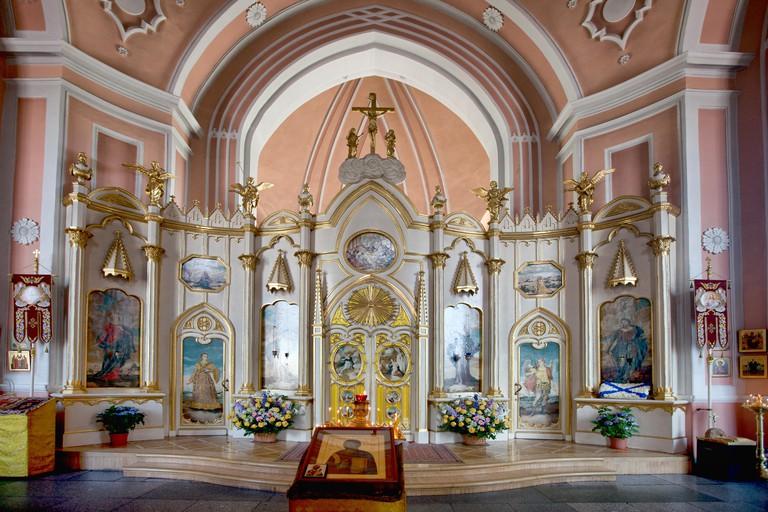 Chesme church of St. John the Baptist. St. Petersburg