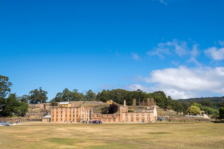 The Penitentiary at the World Heritage listed convict site of Port Arthur, Tasmania, Australia