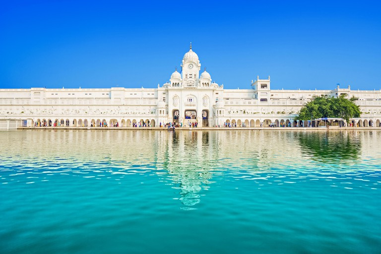 Central Sikh Museum in Golden Temple, in Amritsar