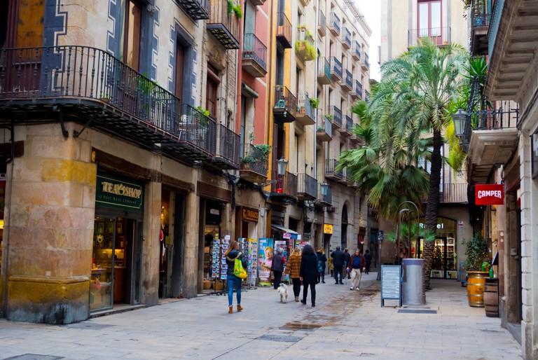 Placeta de Montcada, El Born, La Ribera, Barcelona, Catalonia, Spain