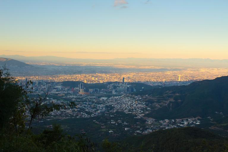 Monterrey landscape, taken from Chipinque natural park