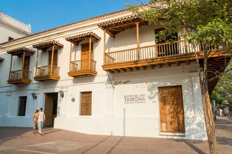 Colombia, Magdalena department, Santa Marta, colonial center, Gold Museum (Museo de Oro) - HWAARN
