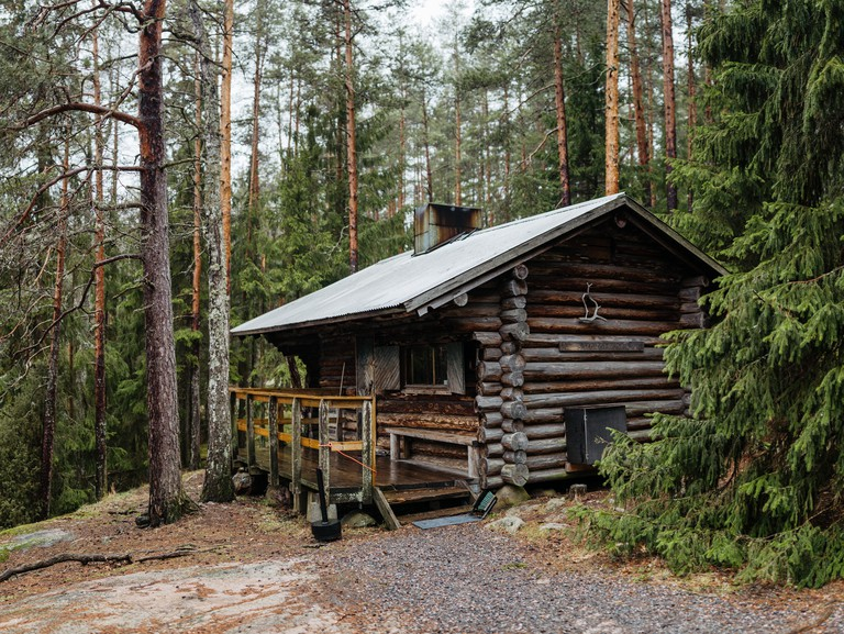 Nature cabin, Nuuksio National Park