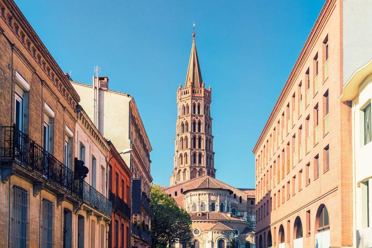France, Haute-Garonne, Toulouse, Old town, Basilica of Saint Sernin