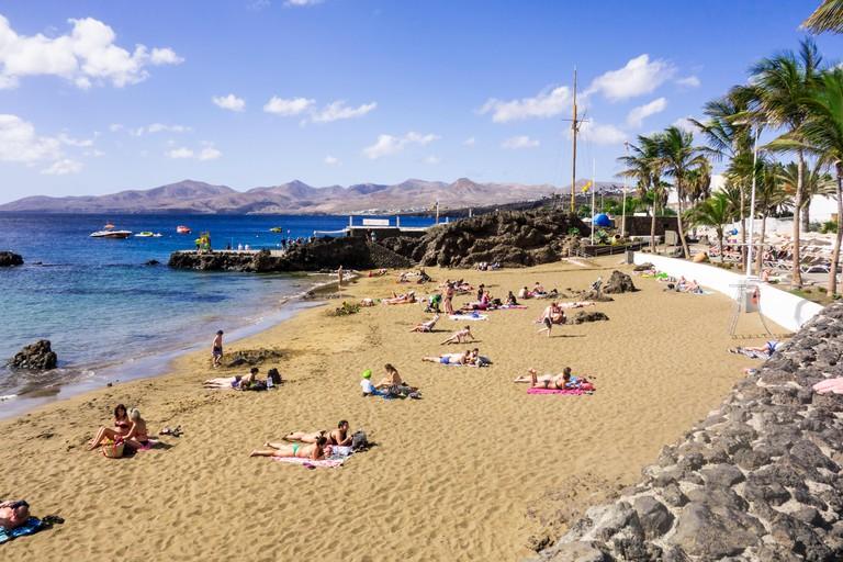 Playa Chica, Lanzarote