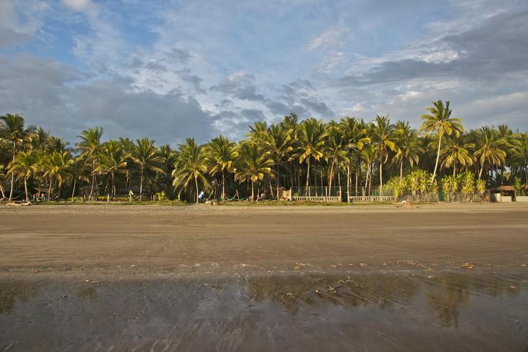 Central America, El Salvador, Pacific Ocean, Playa el Esteron.
