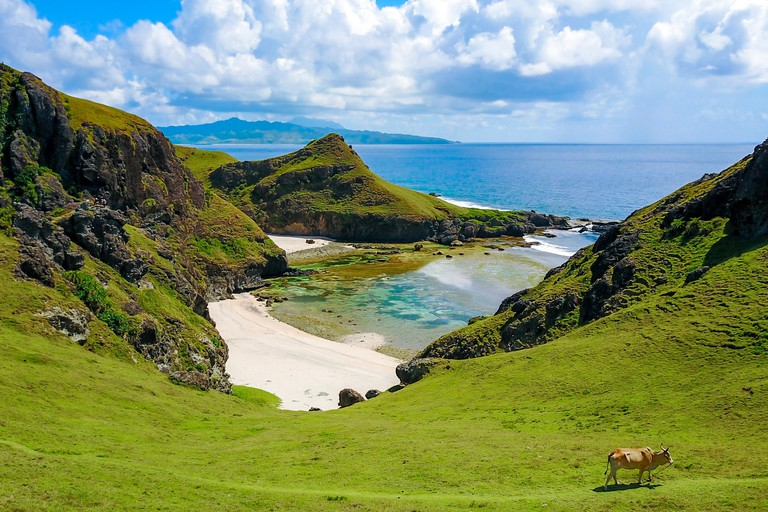 Chamantad Tinan Cove of Sabtang island in the province of Batanes, Philippines