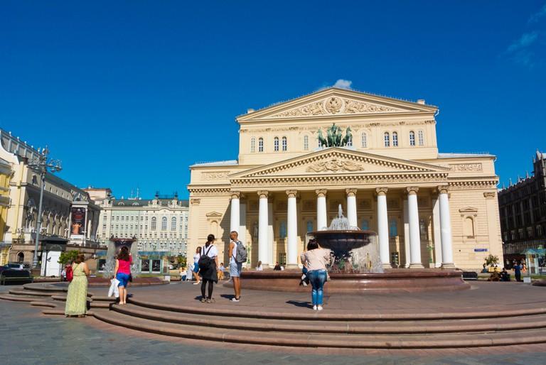 Bolshoi Theatre, Teatralnaya Ploshchad, Moscow, Russia