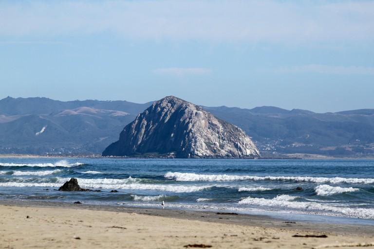 Morro Rock, San Luis Obispo County, California, Usa.