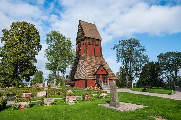 Gamla Uppsala church, Uppsala, Sweden, Scandinavia, Europe