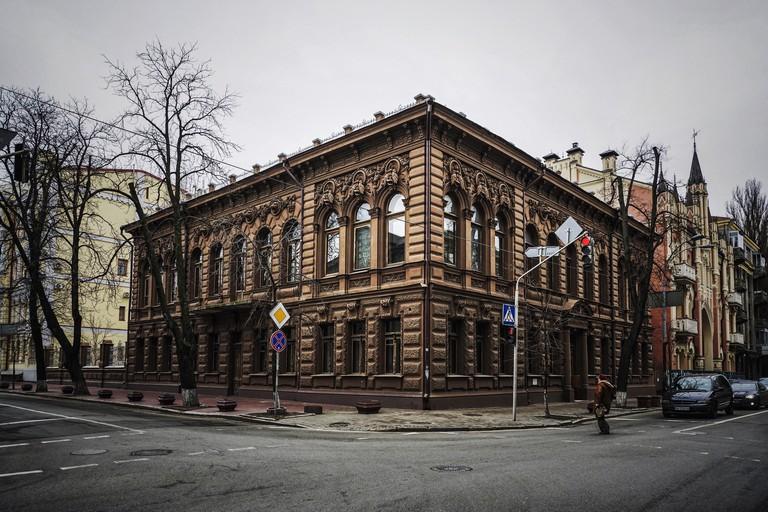 the chocolate house in kiev, ukraine