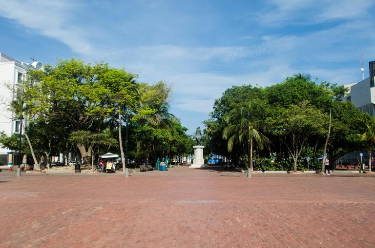 Simon Bolivar Park in Santa Marta