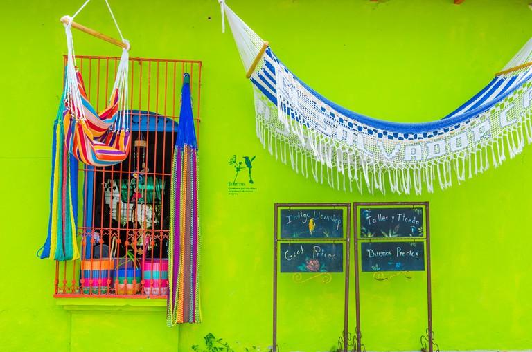 Architectural details in Suchitoto El Salvador