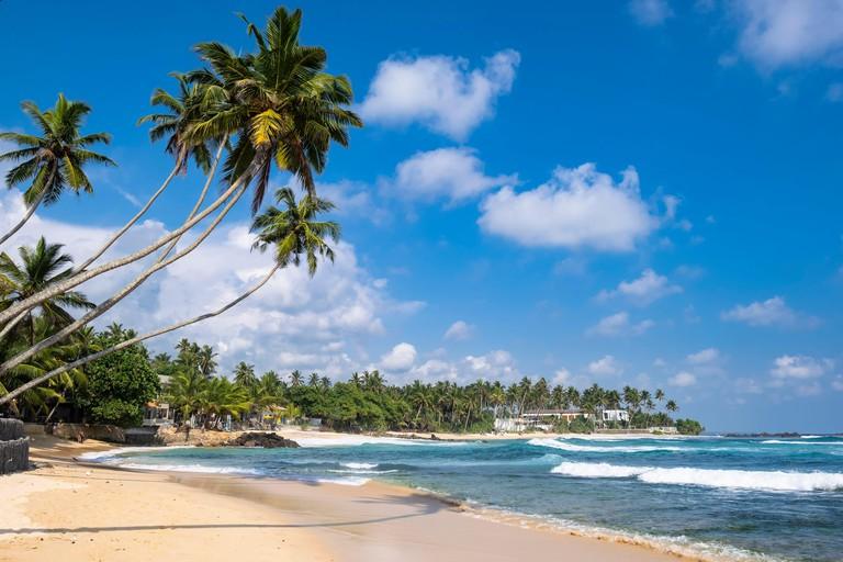 Sri Lanka, Southern province, Unawatuna, Dalawella beach