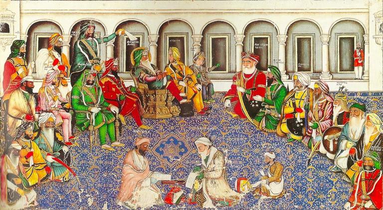 Darbar of Maharaja Ranjit Singh.