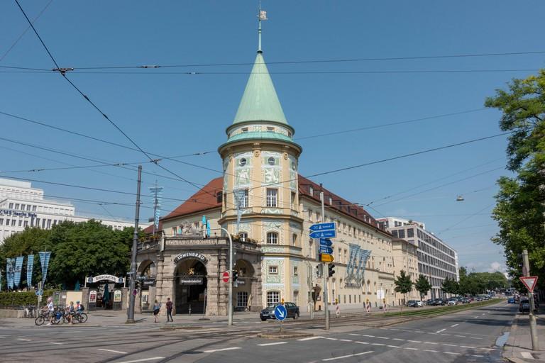 The Lowenbraukeller, Maxvorstadt, Munich, Bavaria, Germany.